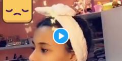 معنفة الرياض  جنى صاحبة فيديو ام جوجو ترد على امها ام جوجو في فيديو جديد على سناب جوجو