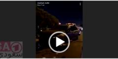 حادث مشاعل التركي شاهد ردة فعلها على الحادث وبكاء مشاعل