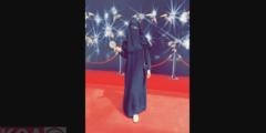 مريم حسين بالنقاب والعباءة الخليجية هل اعتزلت الفن ؟
